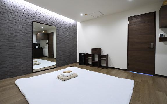 山岡医新整体の施術室